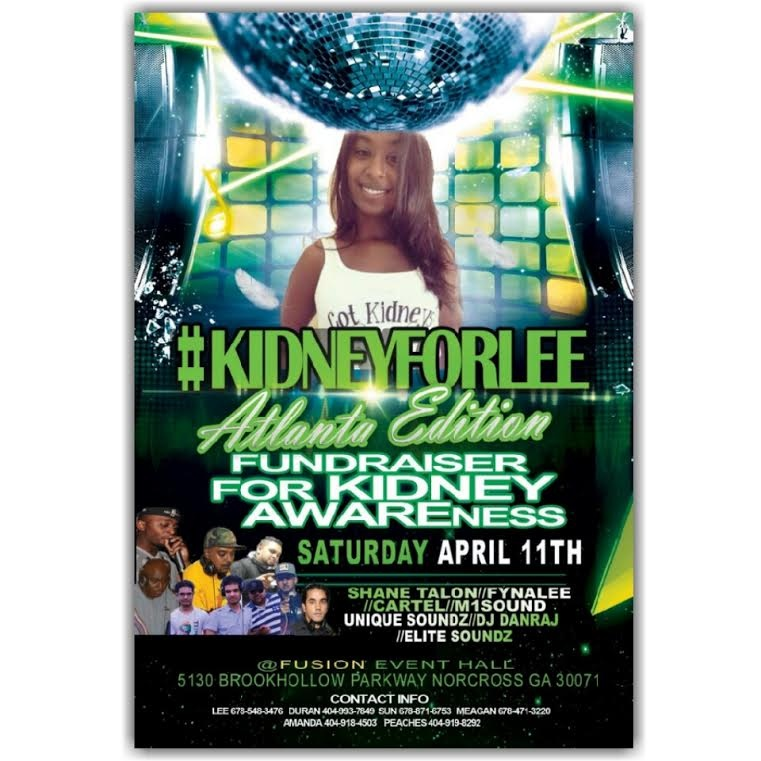 Kidney For Lee Fundraiser in Partnership with ATGTV and ComeSeeTv