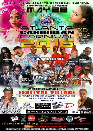 ''Atlanta Caribbean Carnival 2016 live on ComeSeeTv''