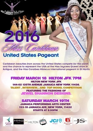 '''Miss Caribbean USA Pageant 2016 live on ComeSeeTv'''