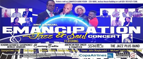 '''SSignal Productions 3rd Annual Emancipation Jazz & Soul Concert'''