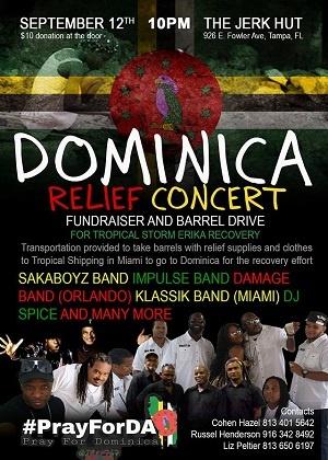 'Dominica Relief Concert'