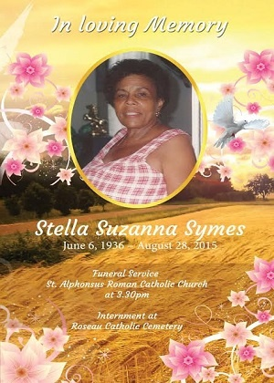 '''''''View the funeral Service of the late Stella Suzanna Symes'''''''