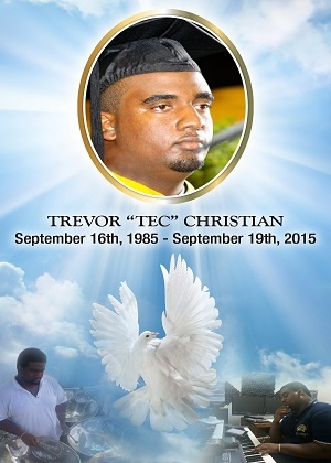 '''View the funeral service of Trevor Christian live on ComeSeeTv'''