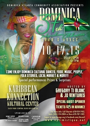 ''DACA presents Dominica 37th Independence Celebrations Show and Dance''