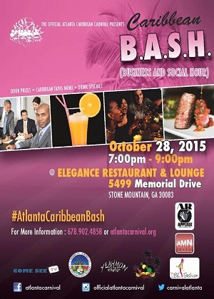 ''Atlanta Caribbean Carnival Presents B.A.S.H October 2015 live ''