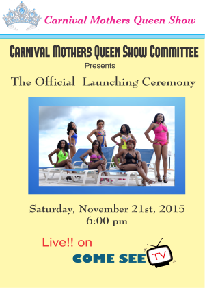 Dominica Carnival Mothers Queen Show 2016 Launch