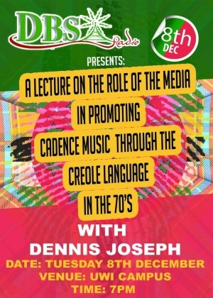 DBS Radio Presents - The role of the media in promoting Cadence music in the 70s