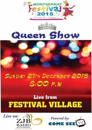 Montserrat Queen Show 2015