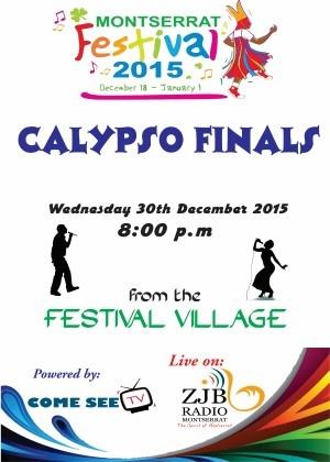 Montserrat Calypso Finals 2015