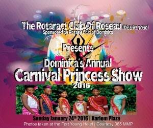 Dominica Carnival Princess Show 2016